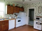 Swim House features a large fully equipped kitchen