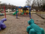 Playground within walking distance.