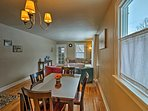 Enjoy home-cooked meals around this dining table with seating for 4.