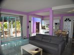 Large 2 bedroom family apartment
