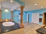This master bathroom is befitting for royalty! Look at the size of that