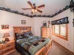 Bear Room with queen Select Comfort mattress