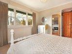 Main bedroom has views to Ballarat CBD