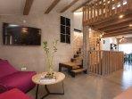 Casa Amando - penthouse - living room & view to gallery