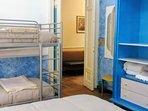 Sapphire bedroom. Sleeps 4.