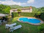 4 bedroom Villa in Pescia, Tuscany, Italy : ref 5055186