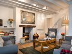 Watch a film, play some games, read, or simply relax with a glass of wine by the fireside.