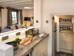 Trengrove really is a great cottage for culinary enthusiasts, a great kitchen, very well equipped.