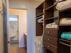 Large closet area