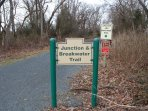 Junction Breakwater Trail is right around the corner.  Quick and fun bike trail to Lewes Beach!
