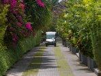 The Layar 2BR - Floral entrance