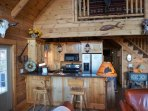 Custom features are everywhere to be seen in this Cabin