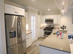 All new stainless appliances- large countertop for easy meal prep! 1 Bayberry Lane Eastham Cape Cod - New England...