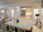 Enjoy family meals together-  1 Bayberry Lane Eastham Cape Cod - New England Vacation Rentals