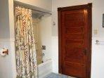 Bathroom with original 19th Century woodwork