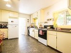 Spacious kitchen with everything you need to whip up a memorable meal!