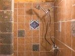 brand new bathroom detail