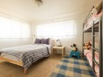 Bedroom 3 with bunk bed for the kids