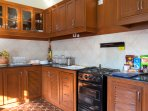 A Fully Stocked Kitchen for Your Self Catering Needs