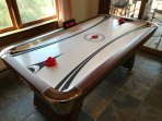 Have an air hockey tournament #gametable