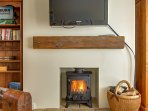 Cosy winter fires at Tolly HOuse Wells-next-to-sea