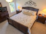 Enjoy the privacy & retreat of the master suite, which takes up the entire third floor of the home.