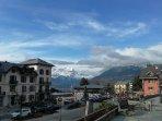 L village de Saint Gervais par une journée d'hiver