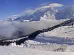 Le Mont D'Arbois sous le soleil