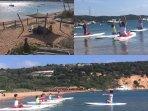 Paddle, kayak, pédalo, catamaran, bouée tractée, ski nautique à la base nautique