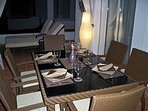 Dining area for 6 on terrace