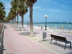 15 mins drive to the lovely beaches of the enclosed Mar Menor 20 to Mediterranean coasts