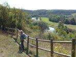La superbe balade du parc naturel, point de vue sur l'Yonne