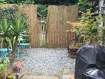 Private courtyard garden to the Smithy