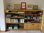 Books, games, puzzles