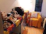 angolo prima colazione e tisaneria