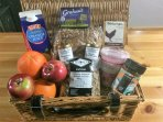 Breakfast welcome hamper to get your stay off to a great start.