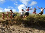 Fun in the sand dunes