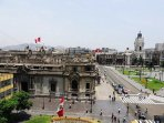 View from the apartment of Presidential Palace, Lima Cathedral