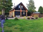 Rowanlea Lodge. Early summer time.