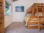 Cottage - Full and Twin Bunk Beds