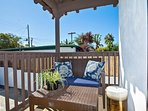 Enjoy quiet moments in the sun on your private balcony!