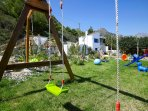Swings for every big or small 'child'.