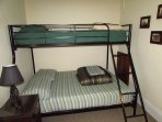 Bedroom 3 - Full Bed on Bottom Bunk - Twin Bed on Top Bunk