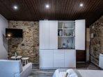 La cocina del apartamento puede permanecer cerrado mientras no se usa