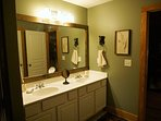 His and Hers Vanity in Loft Suite