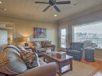 This 4th-story unit boasts 1,500 square feet of well-appointed living space.