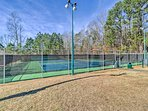 Host a family-friendly tennis match at one of the community courts.
