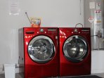 Large Front Load Washer and Dryer