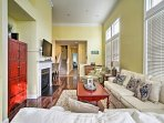 This spacious 2,010-square-foot unit sleeps 8 and offers tall ceilings, walk-in closets and top-of-the-line home...