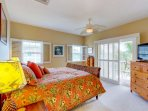 Master Suite with Private Access to Lanai